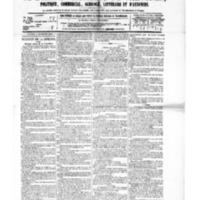 Le Journal de l'arrondissement de Valognes, numéro du 06 novembre 1885