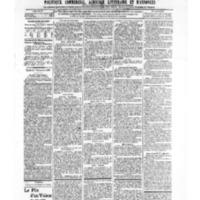 Le Journal de l'arrondissement de Valognes, numéro du 07 septembre 1906