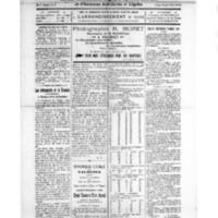Le Journal de l'arrondissement de Valognes, numéro du 22 novembre 1924