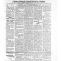 Le Journal de l'arrondissement de Valognes, numéro du 10 mai 1907