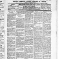 Le Journal de l'arrondissement de Valognes, numéro du 12 avril 1889