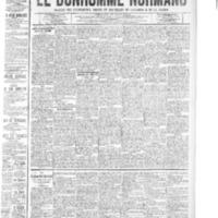 Le Bonhomme normand, numéro du 02 octobre 1908