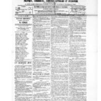 Le Journal de l'arrondissement de Valognes, numéro du 29 mai 1885