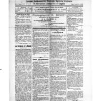 Le Journal de l'arrondissement de Valognes, numéro du 18 octobre 1924