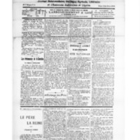 Le Journal de l'arrondissement de Valognes, numéro du 21 juillet 1928
