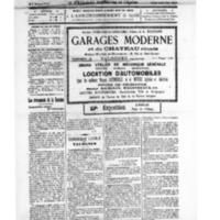 Le Journal de l'arrondissement de Valognes, numéro du 20 septembre 1924