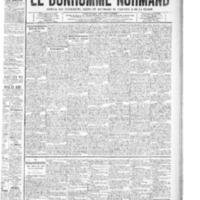 Le Bonhomme normand, numéro du 16 octobre 1908
