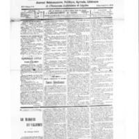 Le Journal de l'arrondissement de Valognes, numéro du 13 septembre 1930