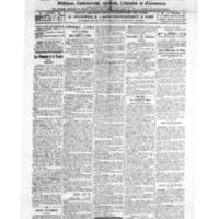 Le Journal de l'arrondissement de Valognes, numéro du 12 mars 1921