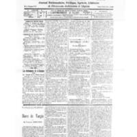 Le Journal de l'arrondissement de Valognes, numéro du 31 octobre 1931