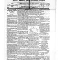 Le Journal de l'arrondissement de Valognes, numéro du 17 novembre 1882