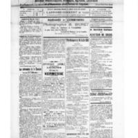 Le Journal de l'arrondissement de Valognes, numéro du 12 juillet 1924