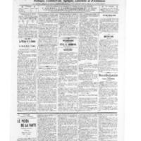 Le Journal de l'arrondissement de Valognes, numéro du 23 juillet 1909