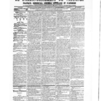 Le Journal de l'arrondissement de Valognes, numéro du 15 septembre 1905