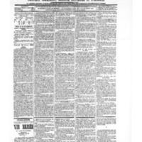 Le Journal de l'arrondissement de Valognes, numéro du 20 février 1903