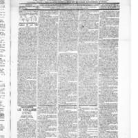 Le Journal de l'arrondissement de Valognes, numéro du 21 août 1896
