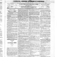 Le Journal de l'arrondissement de Valognes, numéro du 04 août 1865