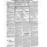 Le Journal de l'arrondissement de Valognes, numéro du 13 août 1932