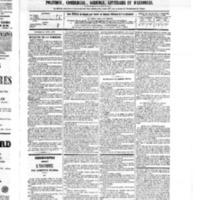 Le Journal de l'arrondissement de Valognes, numéro du 23 avril 1875
