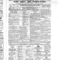 Le Journal de l'arrondissement de Valognes, numéro du 17 septembre 1875