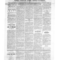 Le Journal de l'arrondissement de Valognes, numéro du 07 février 1913