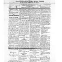 Le Journal de l'arrondissement de Valognes, numéro du 06 novembre 1926