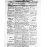Le Journal de l'arrondissement de Valognes, numéro du 20 août 1928