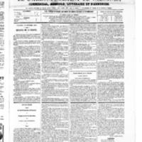 Le Journal de l'arrondissement de Valognes, numéro du 29 novembre 1867