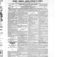 Le Journal de l'arrondissement de Valognes, numéro du 15 janvier 1875